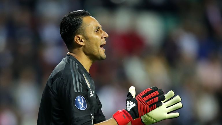 Benfica want to sign Real goalkeeper Keylor Navas