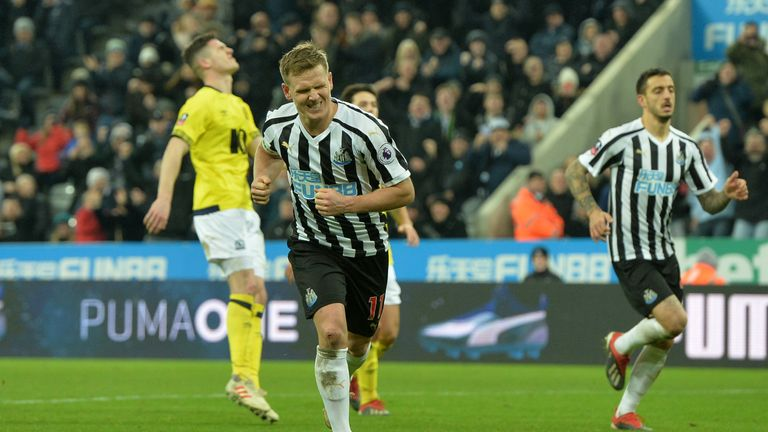 Matt Ritchie's penalty helped rescue Newcastle