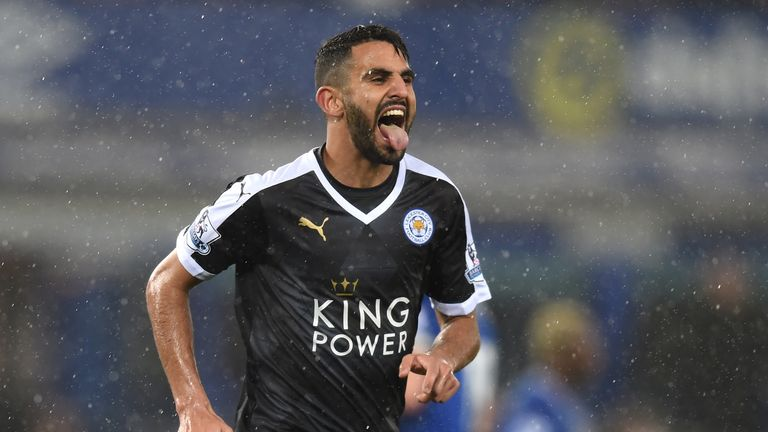 Riyad Mahrez arrived from Le Havre in 2014