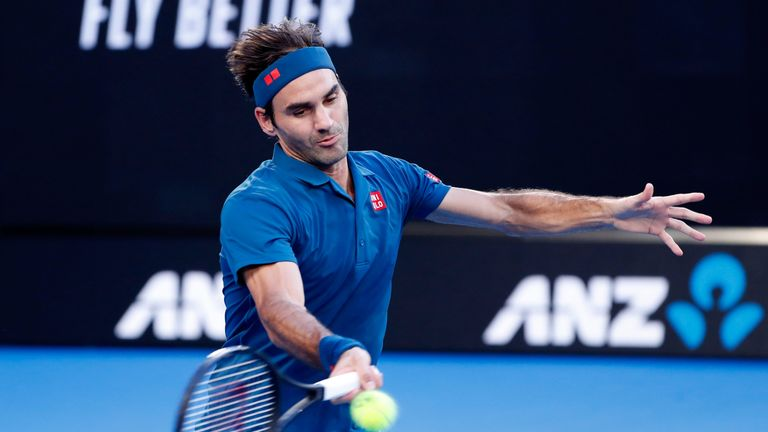 Federer had not lost a set in his three previous matches