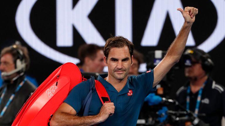 Roger Federer Has Massive Regrets After Stefanos Tsitsipas Defeat Tennis News Sky Sports