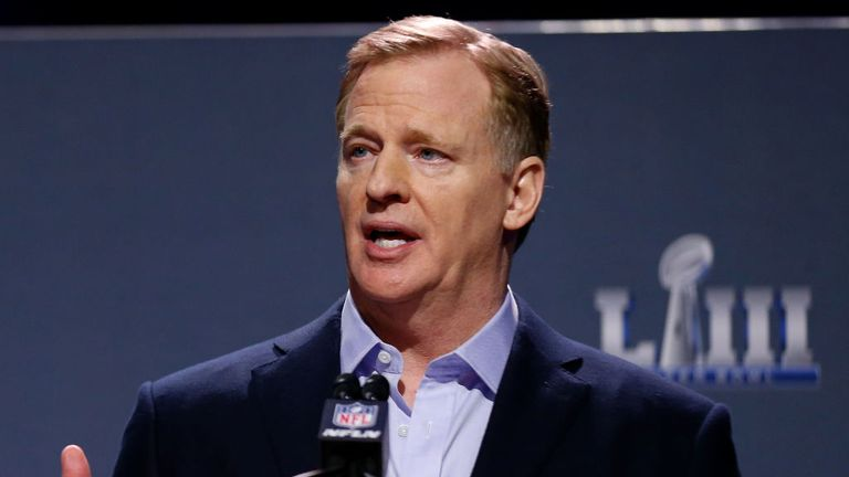 The NFL sent investigators to Kansas City as commissioner Roger Goodell weighed up whether to punish Hill