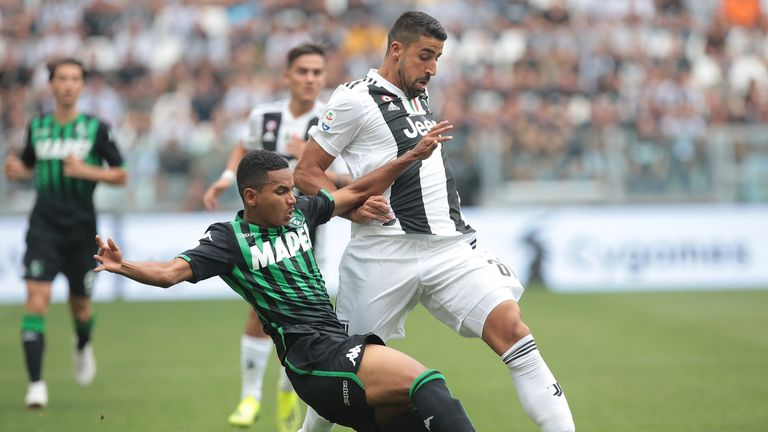 Rogerio - who is on loan at Sassuolo from Juventus - is reportedly a transfer target for Wolves