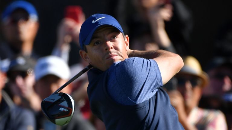Rory McIlroy is currently eighth in the world rankings