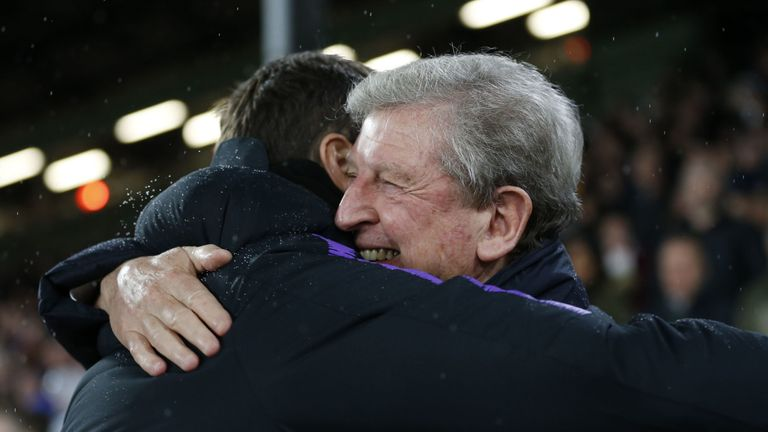 Roy Hodgson says it is naive to say managers who miss out on trophies are failures
