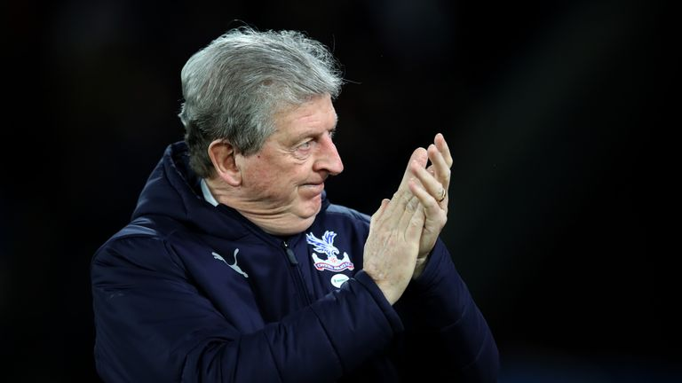 Roy Hodgson was pleased with Martin Atkinson's refereeing against Grimsby