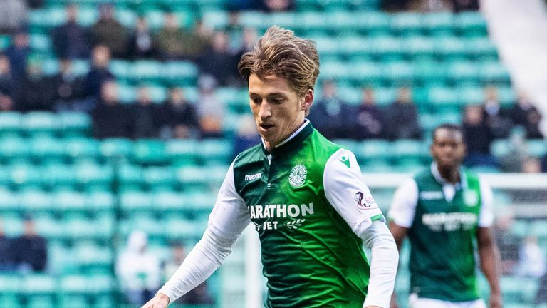 Ryan Gauld made his debut for Hibernian in the Scottish Cup win against Elgin at the weekend