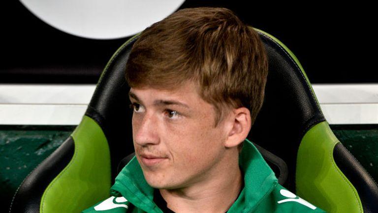 Scottish winger Ryan Gauld