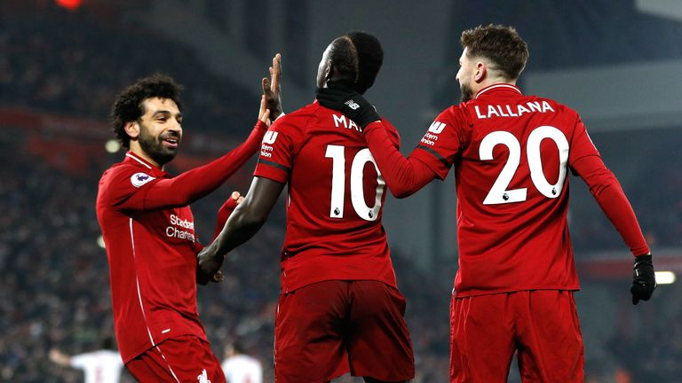 Liverpool stuttered to victory over Crystal Palace at Anfield on Saturday