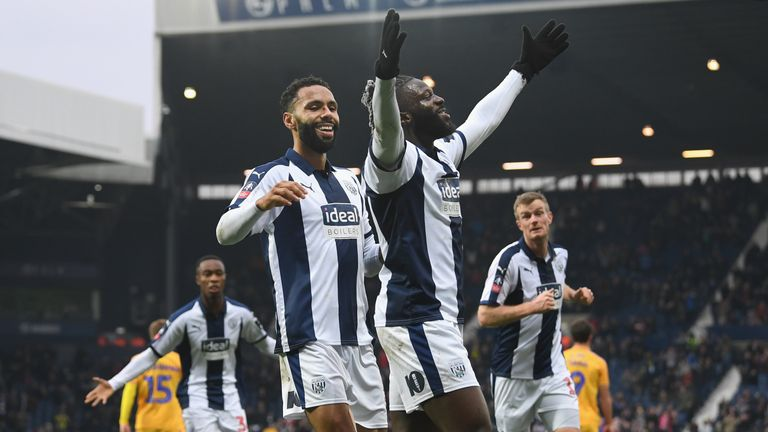 Bakary Sako scored the only goal as West Brom progressed to the fourth round