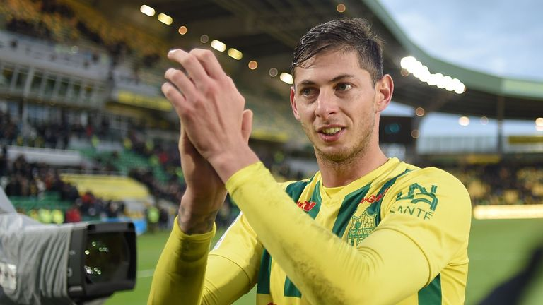 Sala moved to Cardiff as the club's record-signing