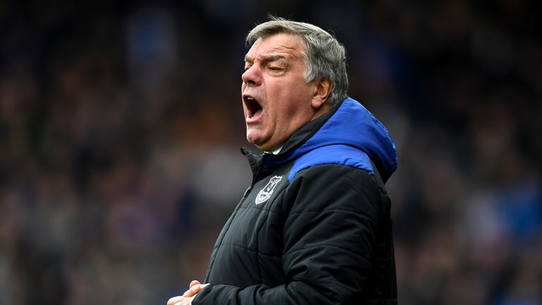 Sam Allardyce has been out of work since being sacked by Everton in May