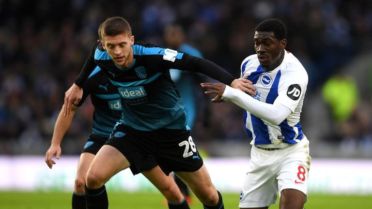 Brighton and West Brom drew 0-0 in the first tie at the Amex Stadium