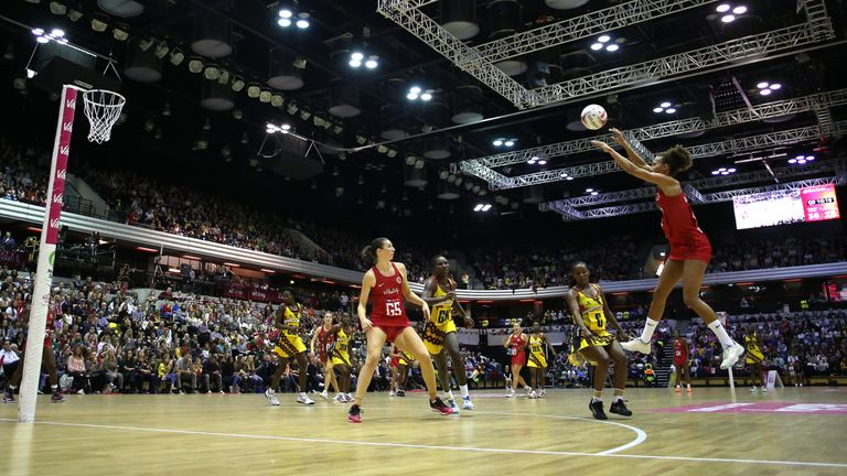 The mid-court player could secure her 100th cap in New Zealand
