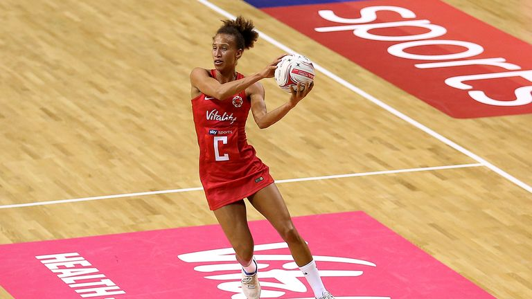 Serena Guthrie has 87 caps for the Vitality Roses