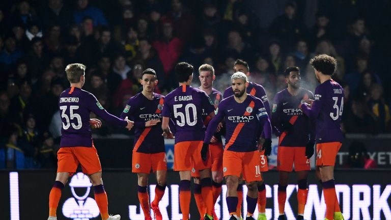 Manchester City thump Burnley to progress in FA Cup