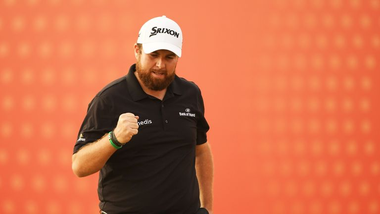 Shane Lowry claimed a dramatic win in Abu Dhabi