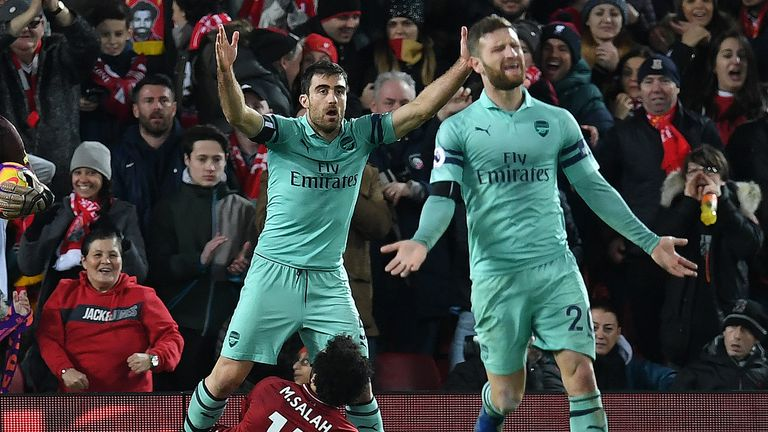 No team in the top half has conceded more goals than Arsenal