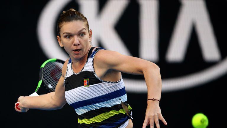 Simona Halep Books Serena Williams Meeting In Australian Open Fourth