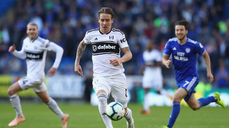 Stefan Johansen has fallen largely out of favour at Fulham this season