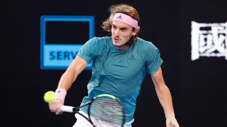 Stefanos Tsitsipas Beats Roger Federer To Reach First Grand Slam Quarter Final At Australian Open Tennis News Sky Sports