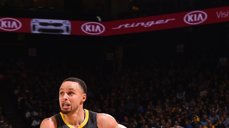 Steph Curry scores 41 as Golden State Warriors defeat New