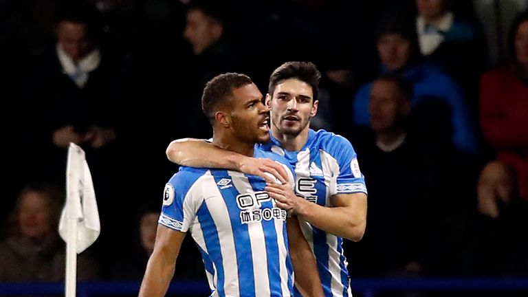 Huddersfield Town have celebrated just two Premier League wins all season