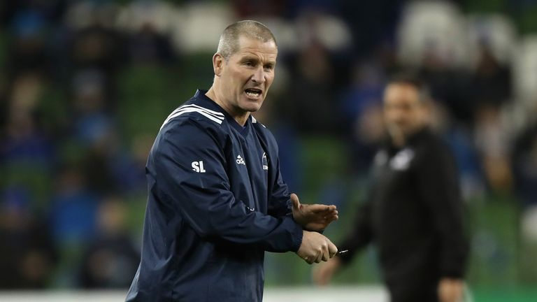 Stuart Lancaster won the Champions Cup with Leinster last season