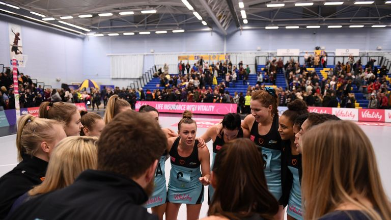 Surrey Storm will be looking to record their fourth win of the season and first at home