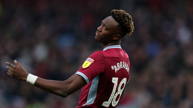 Tammy Abraham is an injury worry for Villa boss Dean Smith