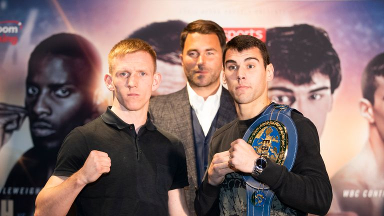 Cheeseman challenges Sergio Garcia for the European title on February 2, live on Sky Sports