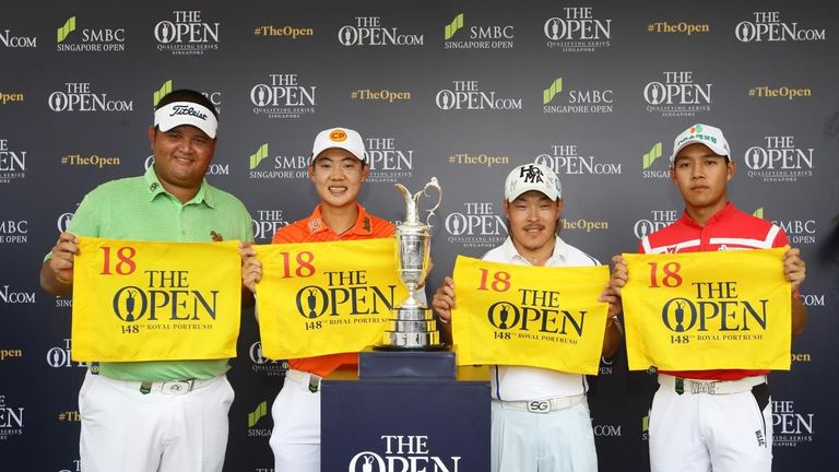 Janewattananond had already qualified for The Open after his win in Singapore in January