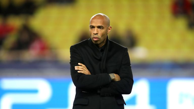 during the UEFA Champions League Group A match between AS Monaco and Borussia Dortmund at Stade Louis II on December 11, 2018 in Monaco, Monaco.