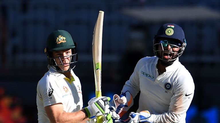 Tim Paine challenged Rishabh Pant to look after his children during the Boxing Day Test in Melbourne