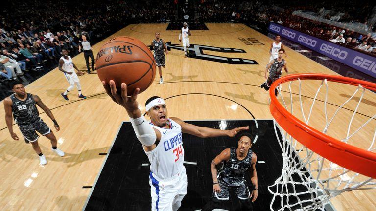 Tobias Harris stars in Los Angeles Clippers win over San Antonio