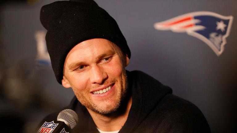 Tom Brady took questions from his former coach Rob Ryan on Wednesday