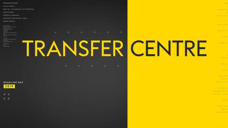 Transfer Centre 2019