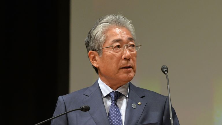 Tsunekazu Takeda has been a member of the Japanese Olympic Committee since 1987 and its president since 2001