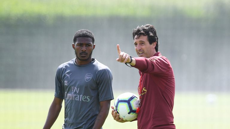 Maitland-Niles has made 12 appearances under Unai Emery