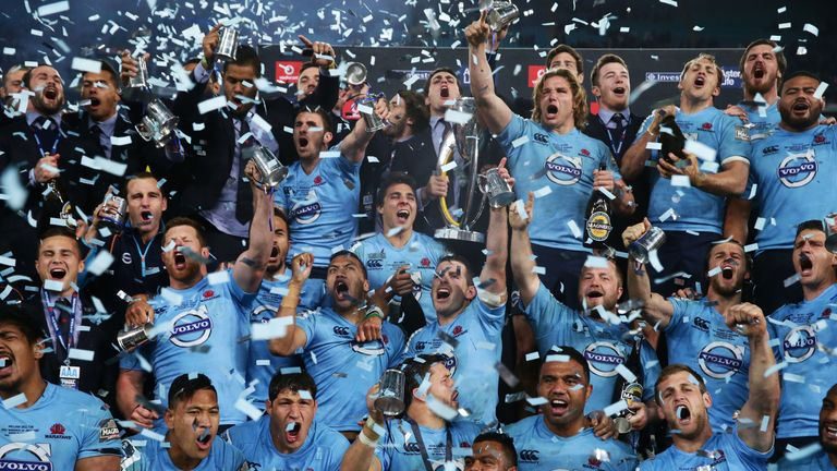 The Waratahs were the last Australian side to lift Super Rugby silverware back in 2014