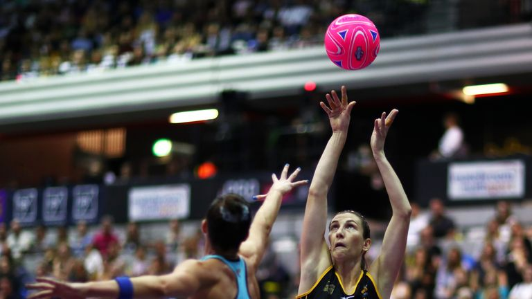 Rachel Dunn inspired Wasps to victory at the British Fast5 Netball All-Stars Championship