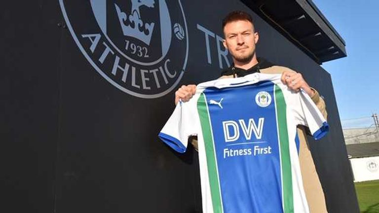 Anthony Pilkington has joined Wigan Athletic on an 18-month deal