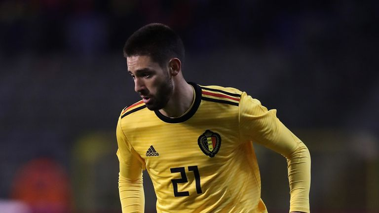 Yannick Carrasco for Belgium
