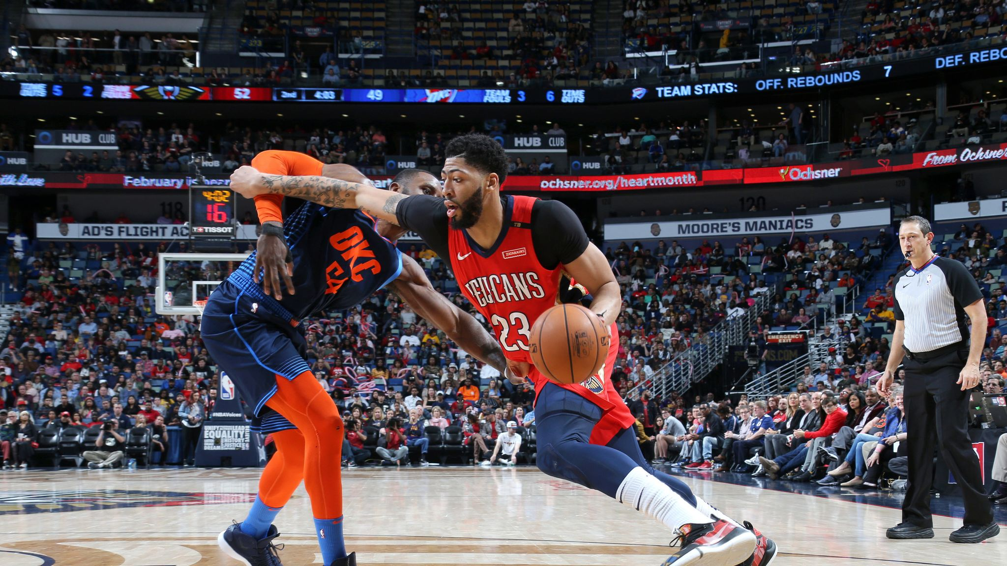 New Orleans Pelicans Lose Anthony Davis To Injury But Rally