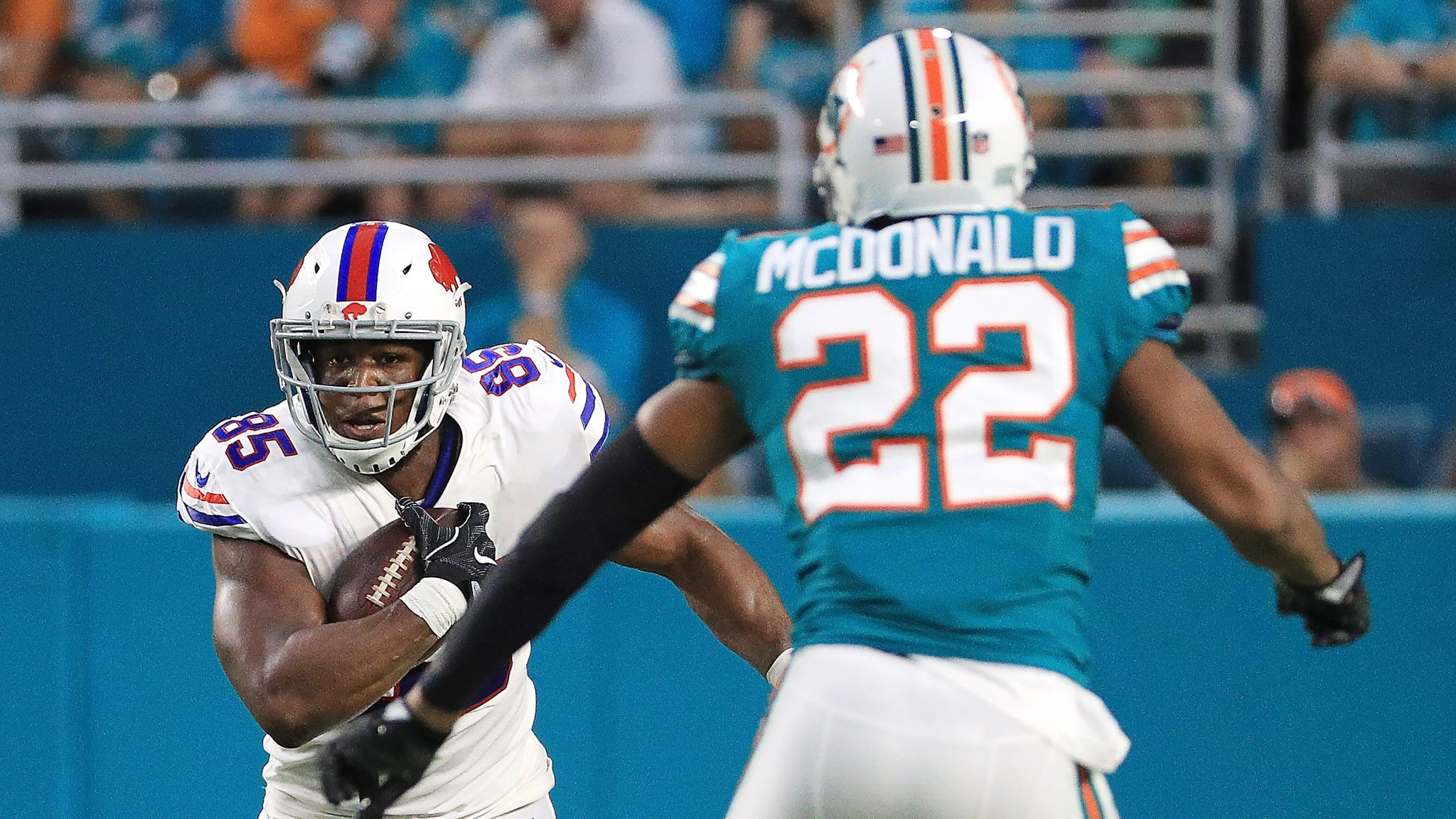 473d0822 Buffalo Bills release tight end Charles Clay | NFL News | Sky Sports