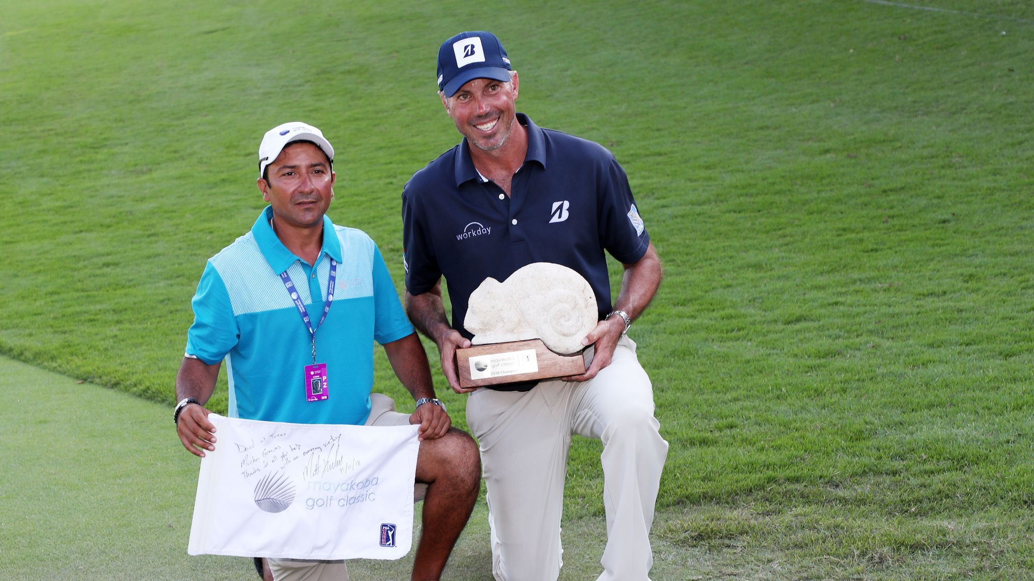 Matt Kuchar issues apology for caddie payment row in Mexico