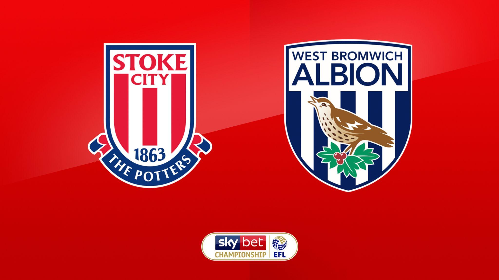 Stoke City vs West Brom Highlights 01 October 2021
