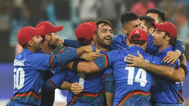 Afghanistan struck the highest T20I score of 278-3