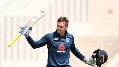 Jason Roy scored 110 before retiring out in Barbados