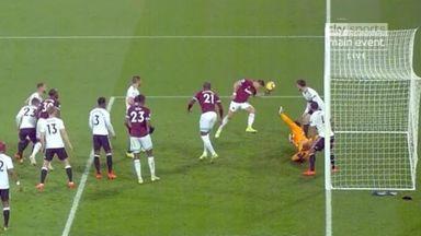 WATCH: Hernandez's handball goal